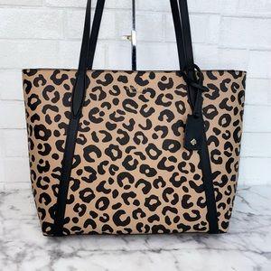 Kate Spade Large Leopard Tote